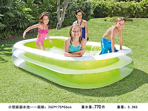 Svvsgf Gartenpool Kleines Familien-Planschbecken Aufblasbarer Pool Ocean Ball Pool-Separater Pool