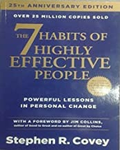 The 7 Habits of Highly Effective People: Powerful Lessons in Personal Change 25nd Edition by Stephen R. Covey, Jim Collins - Paperback
