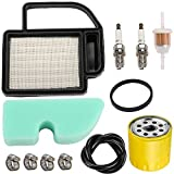 LIYYOO 20-083-02-s 20-083-06-S Air Filter Oil Filter Spark Plug Tune Up Kit for Kohler SV470 SV471 SV480 SV530 SV540 SV541 SV590 SV591 SV600 SV601 SV610 SV620 Engine Cub Cadet Toro Lawn Mower Tractor