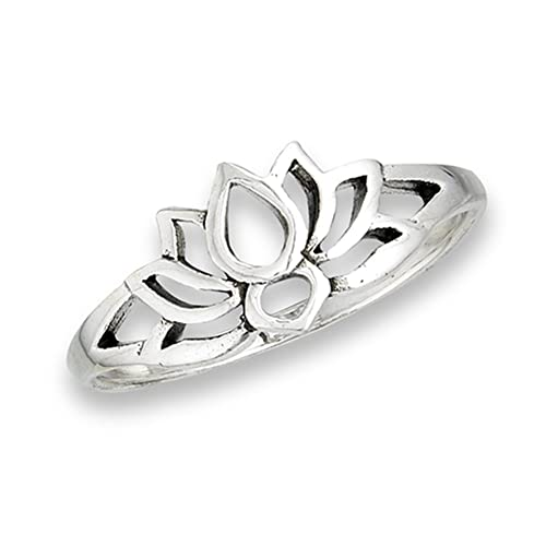 30af3d97155e4 Lotus Ring: Amazon.com