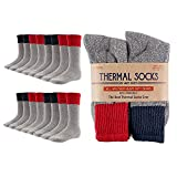 Hot Feet Outdoor Thermal Socks for Men, Reinforced Heel and Toe,...