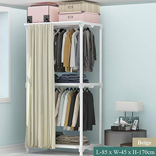 LESHARED eenvoudig gordijn jas Rack Multi functionele vloer vouwen Droogrek Thuis slaapkamer garderobe garderobe garderobe Indoor kleding Rack Hanger