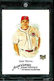 2008 Topps Allen and Ginter # 129 Joey Votto (RC) Rookie Card (Cincinnati Reds) MLB Baseball Card