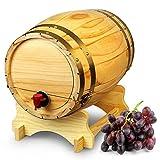 Barrica vintage dispensador de vino por copas