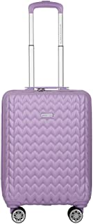 United Colors of Benetton Knit Structure ABS 55 cms Pink Hardsided Cabin Luggage (0IP6MP20HL08I)