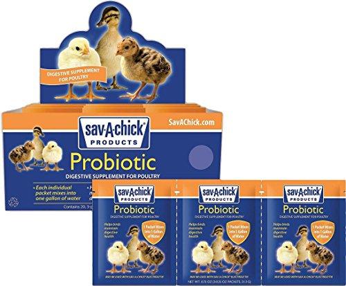 Sav-A-Chick Probiotic 3 packets .17oz