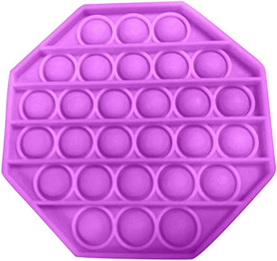 KENANLAN Push Up Fidget Toy Pop It Fidget Toy Autism Chew Toys Sensory Push Bubble Fidget Sensory Toy Autism Special Needs Stress Reliever-Great for Fidgety Students