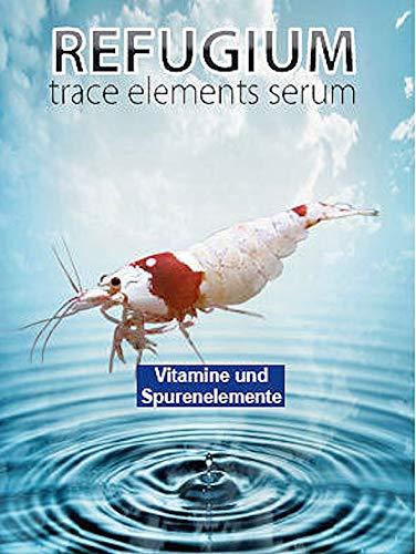 REFUGIUM Trace Elements - Ergänzung von Spurenelementen für Zwerggarnelen, 125 ml