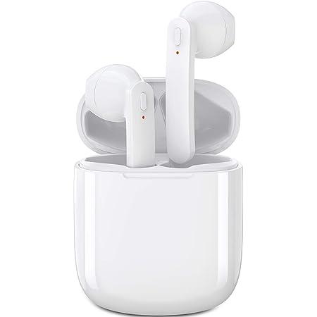 【Aisea人気モデル Bluetooth イヤホン】 完全 ワイヤレスイヤホン Bluetooth イヤホン ブルートゥースイヤホン Bluetoothヘッドセット 自動ペアリング Hi-Fi重低音 マイク内蔵 ハンズフリー通話勤務/ビジネス 超軽量 小型 IPX7防水 運転 ノイズキャンセリング 両耳/片耳 左右分離型