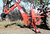 Farmer Helper Tractor Backhoe, 9'Dig 3-Pt Self Contained, PTO Powered Cat.I 30Hp+ (FH-BHM9)