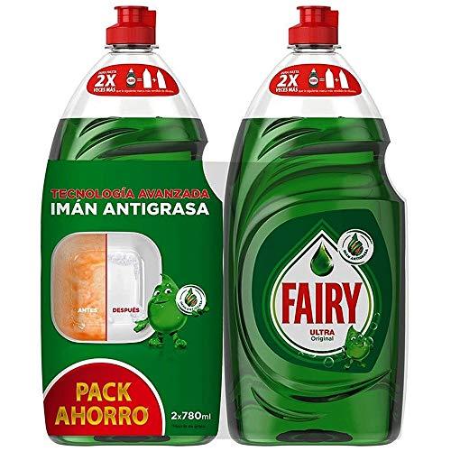 FAIRY lavavajillas mano concentrado ultra botella 2 x 780 ml