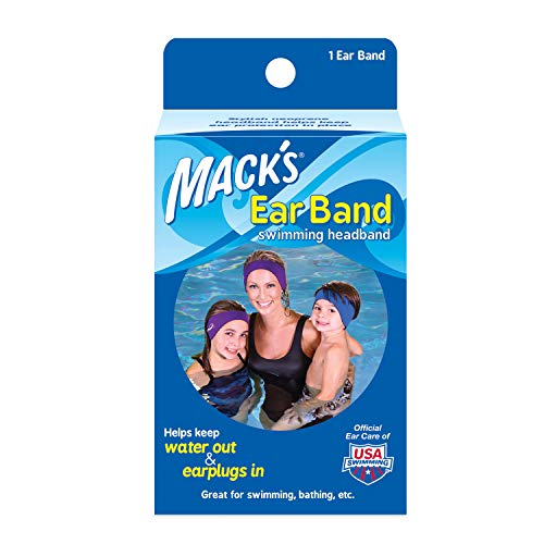 Mack's Ear Band Swimming Headband – Best Swimmer's...