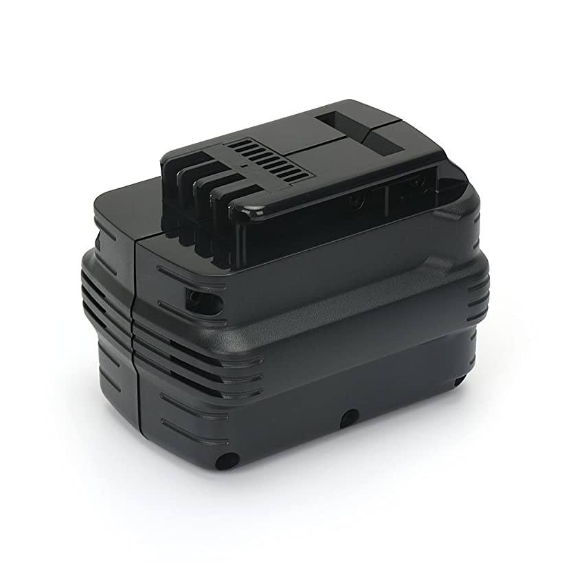 PowerGiant 24V 2.0Ah NiCd Replacement Battery for Dewalt DW0240 DW0242 DE0240 DE0241 DE0243 DW004 DW005 DW006 DW007 DW007K DC223KA DC222KA DC224KA