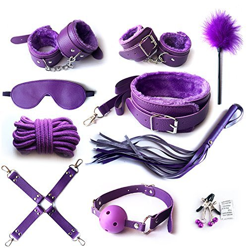 Buy Handcuffs for Under bed restraint Kit Bondage Bondageromance Fetish Sex Play BDSM SM Restraining...