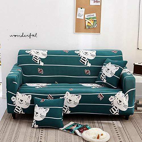 Funda de sofá Antideslizante,Funda de sofá elástica, funda de cojín de sofá antideslizante todo incluido, funda de protección de polvo de sofá universal para todas las estaciones-Color 21_235-300cm