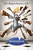 Close Up Ratatouille Poster He's Dying to Become a Chef