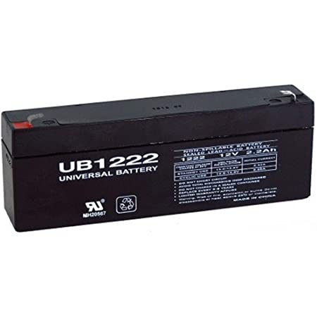 Universal Power Group 12V 2.2AH SLA Battery for Security Fire Alarm System