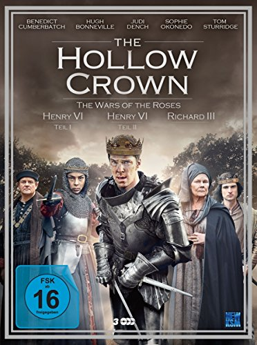 The Hollow Crown - Staffel 2 - The War of Roses [3 DVDs]