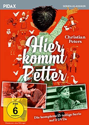 Hier kommt Petter / Die komplette 13-teilige Familienserie nach dem Bestseller von Hans Peterson (Pidax Serien-Klassiker) [2 DVDs]