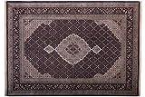 Tabriz 174x244 cm Handgeknüpft Geometrisch Teppich 170x240
