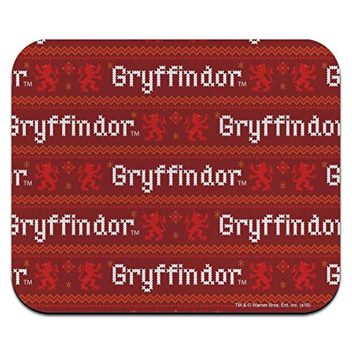 Harry Potter Gryffindor Pullover mit Worten Muster Low Profile Thin Mouse Pad Mousepad