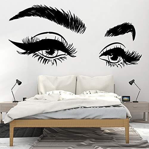 Ajcwhml Lustige schöne Auge wandkunst Aufkleber Dekoration Mode Aufkleber für kinderzimmer Haus Dekoration wanddekoration wandbild