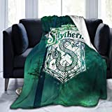 Ha-Rry Po-Tter Novelty Blanket Fleece Throw Blanket Super Soft Lightweight for Kids
