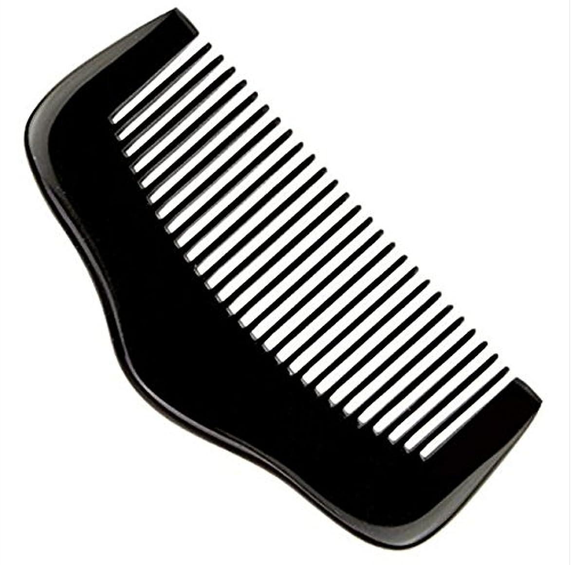 軍団冊子同一の櫛型 プロも使う牛角かっさプレート マサージ用 血行改善 高級 天然 静電気 防止 美髪美顔 ボディ リンパマッサージ