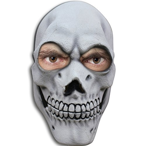 AEC - MAHAL631 - Masque tete de mort en latex adulte
