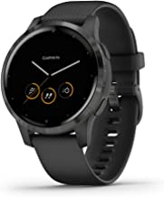 Garmin vivoactive 4, GPS Smartwatch, Features Music, Body Energy Monitoring, Animated Workouts, Pulse Ox Sensors and More,...