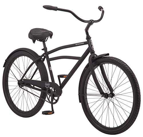 Review Of Schwinn Huron Adult Beach Cruiser Bike, Featuring 17-Inch/Medium Steel Step-Over Frames, 1...