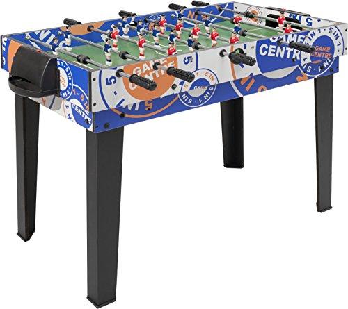 Villa Giocattoli - Calcetto Soccer 5 giochi in 1, Calcio Balilla Biliardino (calcetto, tavolo ping pong, biliardo, bowling e hockey)