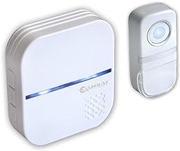 Sansai Plug in Wireless Door Chime/Bell/Ring 58 Tones/150m Range Waterproof