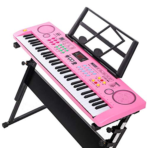 Review Of Electronic Piano Toy, 61-key Piano Keyboard With Microphone Power Adapter, for Children's ...