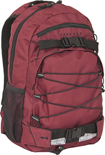 FORVERT Backpack Small Louis, burgundy, One Size