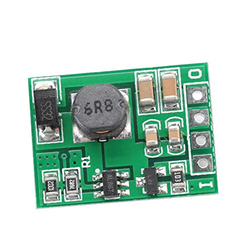 Módulo regulador de refuerzo de voltaje DC-DC 2.6-5.5V a 5V / 6V / 9V / 12V Fuente de alimentación elevadora para encendido/apagado(5V)