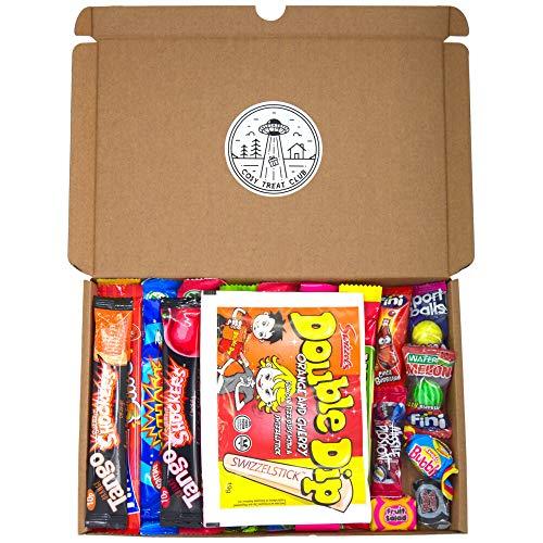 Cosy Treat Club Chewy Sweet Box, 21 Sweets, Chew Bars, Retro Sweets,...