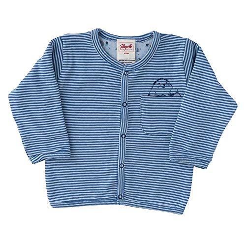 People wear organic Baby Veste réversible en Coton Bio - Bleu - 62 cm-68 cm