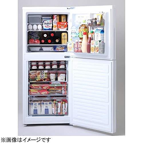ツインバード2ドア冷蔵庫(146L)HR-E915PWパールホワイト「ハーフ&ハーフ」