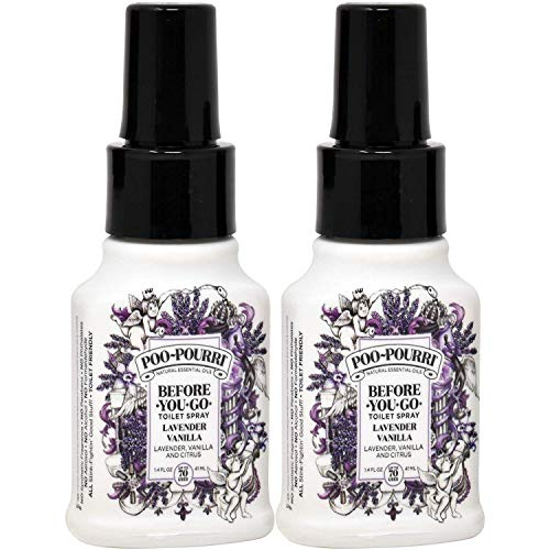 Poo-Pourri lavender vaniilla Scent Odor Eliminator 1.4 oz. Liquid