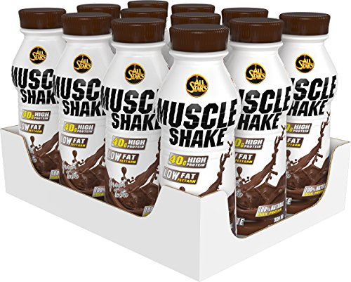 All Stars Muscle Shake, Schoko, 12er Pack (12 x 500 ml)