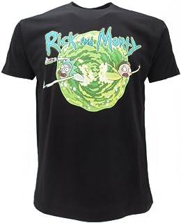 Rick and Morty Camiseta original con etiqueta y etiqueta de originalidad.