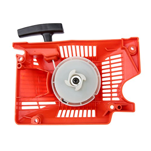 Hicello 45cc 52cc 58cc Chainsaw Parts Single Recoil Pull Starter Assembly Chainsaw Spares for Chinese Chainsaw 4500/5200/5800