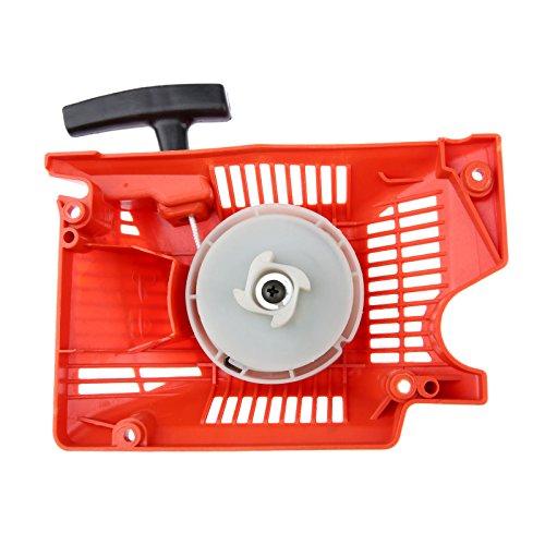 Hicello 45cc 52cc 58cc piezas de motosierra de un solo retroceso tirón de arranque ensamblaje de motosierra de repuesto para motosierra china 4500/5200/5800