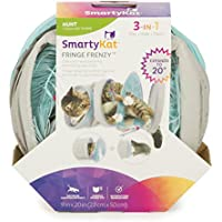 SmartyKat Collapsible & Expandable Fringe Frenzy Cat Activity Tunnel