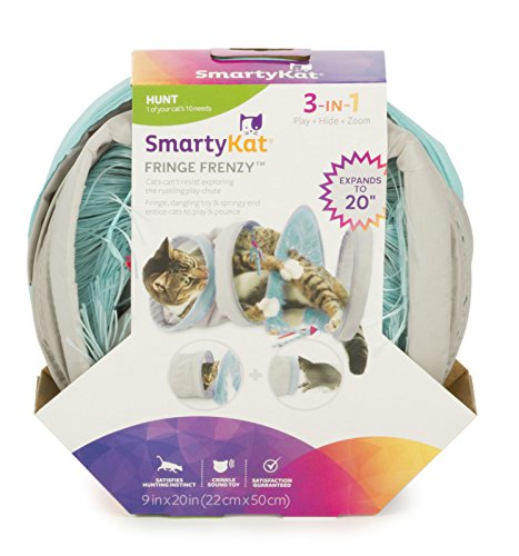 SmartyKat Cat Activity Tunnel $4