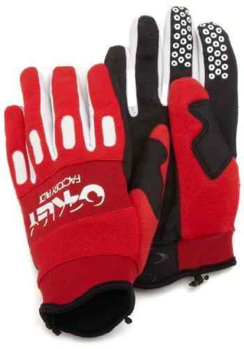 Oakley - Guantes de Ciclismo para Hombre, tamaño XS, Color Rojo