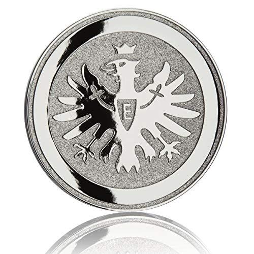 Eintracht Frankfurt Aufkleber, Sticker, Autoaufkleber Chromlogo Adler 3D SGE - Plus Lesezeichen I Love Frankfurt