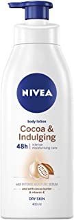 Cocoa & Indulging 48 Hour Intense Body Lotion & Moisturiser with Intensive Moisture Serum, Cocoa Butter & Vitamin E for Dry Skin