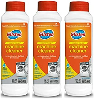 Glisten WM0612N Washer Magic Washing Machine Cleaner and Deodorizer, 3 pack